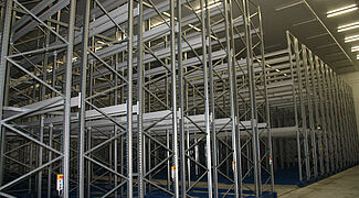 mobile racking pallet rack